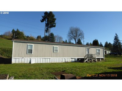 Cowlitz County Single Family Home For Sale: 1753 S Cloverdale Rd S