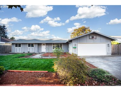 Eugene Single Family Home For Sale: 3883 W 18th Ave