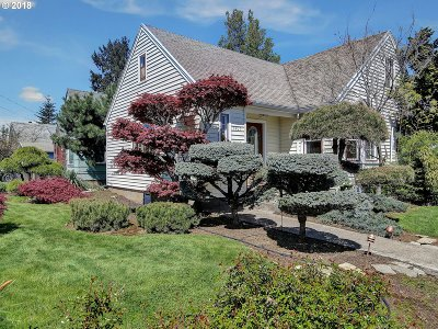 Portland Single Family Home For Sale: 7407 N Polk Ave