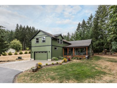 Scappoose Single Family Home For Sale: 27159 Eversole Ln