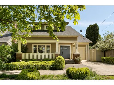 Single Family Home For Sale: 5426 NE 32nd Pl