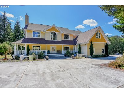 Cowlitz County Single Family Home For Sale: 600 Harrison Rd