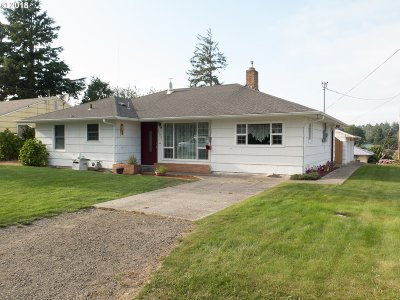 North Bend Single Family Home For Sale: 1120 State