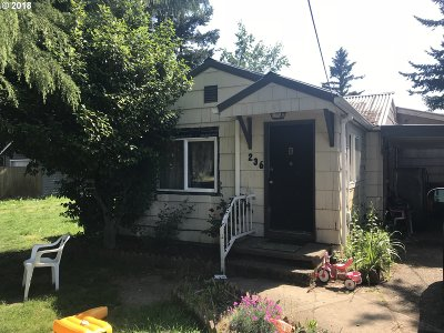 Portland Single Family Home For Sale: 236 NE 192nd Ave