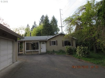 Clackamas County Single Family Home For Sale: 14680 Redland Rd