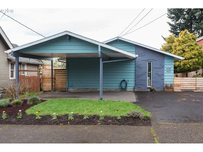 Portland Multi Family Home For Sale: 4135 SE 28th Ave