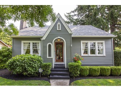 Single Family Home For Sale: 6230 SE 46th Ave