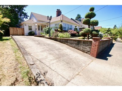Clackamas County, Multnomah County, Washington County Single Family Home For Sale: 260 N Stafford St
