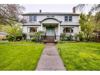 Eugene Single Family Home For Sale: 250 N Adams St