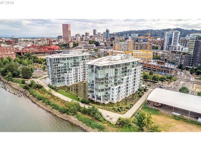 Portland Condo/Townhouse For Sale: 1260 NW Naito Pkwy #607