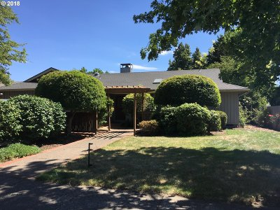 Eugene Single Family Home For Sale: 2632 Chad Dr
