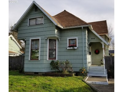 Newberg, Dundee, Mcminnville, Lafayette Single Family Home For Sale: 608 N Main St