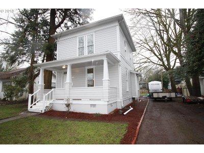 Salem Single Family Home For Sale: 1334 Marion St NE