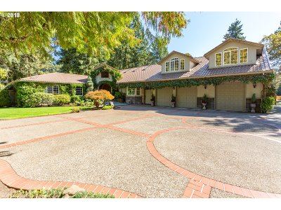 Lake Oswego Single Family Home For Sale: 3822 Lake Grove Ave