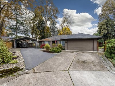 Beaverton Single Family Home For Sale: 3720 NW 168th Pl