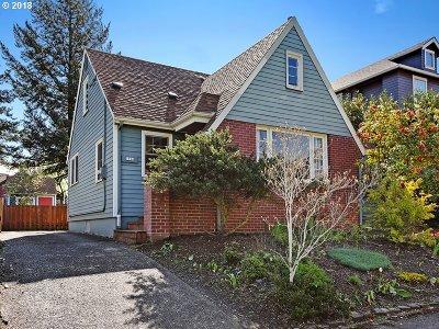Portland Single Family Home For Sale: 5526 NE 23rd Ave