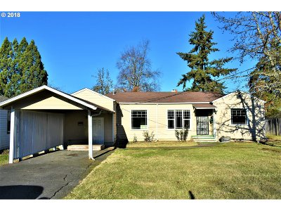 Eugene Single Family Home For Sale: 869 W 18th Ave