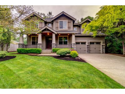 Lake Oswego Single Family Home For Sale: 18955 Bryant Rd