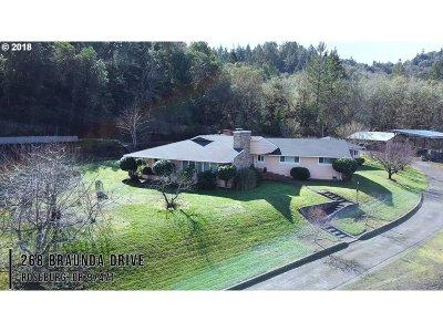 Roseburg Single Family Home For Sale: 268 Braunda Dr