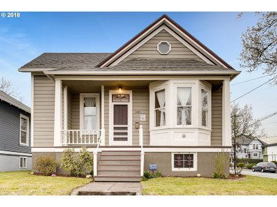 Portland Single Family Home For Sale: 3405 SE 13th Ave