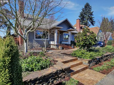 Portland Single Family Home For Sale: 7115 N Curtis Ave