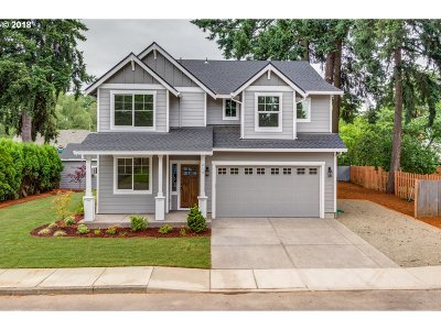 Canby Single Family Home For Sale: 214 SW 6th Pl