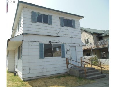 Pendleton Single Family Home For Sale: 627 SW 4th St