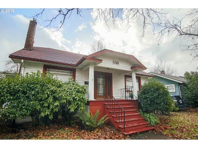 Eugene Single Family Home For Sale: 1150 W 11th Ave