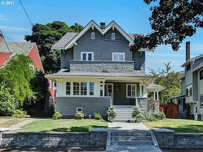 Portland Single Family Home For Sale: 2126 NE 17th Ave