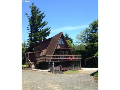 Coos Bay Single Family Home For Sale: 91051 Cape Arago Hy