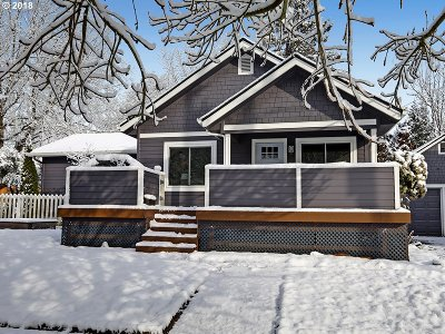 Portland Single Family Home For Sale: 1517 N Watts St