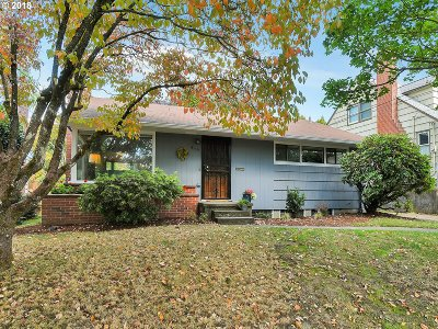 Single Family Home For Sale: 4115 SE Knapp St