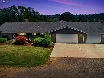 Wilsonville Single Family Home For Sale: 34232 SW Ladd Hill Rd