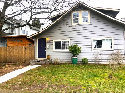 Single Family Home For Sale: 9151 SE Pine St