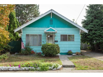 Portland Single Family Home For Sale: 9424 N Tioga Ave
