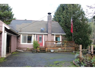 Mapleton Single Family Home Pending: 88074 Riverview Ave