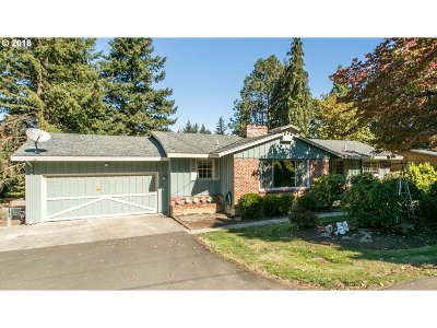 Portland Single Family Home For Sale: 12345 SE Bybee Blvd