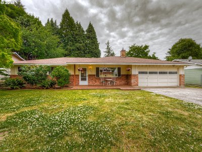 Milwaukie Single Family Home For Sale: 5608 SE Woodhaven St