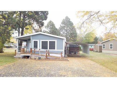 La Grande OR Single Family Home Pending: $49,900