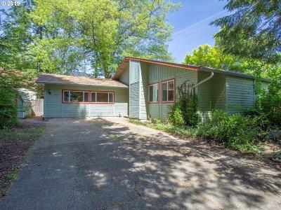 Portland Single Family Home For Sale: 7475 SW Alden St