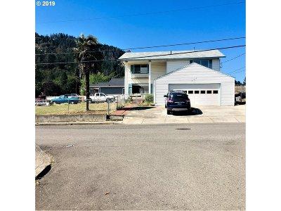 Myrtle Creek Single Family Home For Sale: 345 NE Rice St