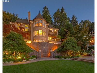 Lake Oswego OR Single Family Home For Sale: $4,985,000