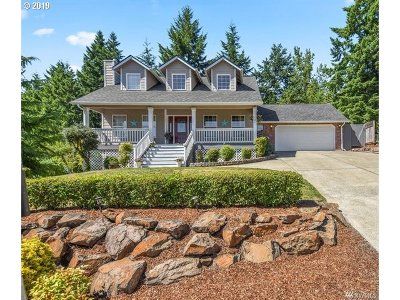 Cowlitz County Single Family Home For Sale: 141 Ruby Pl