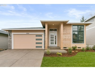 Beaverton Single Family Home For Sale: 9606 SW 172nd Ave