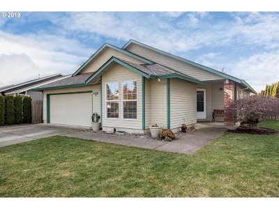 Canby Single Family Home Pending: 1303 S Birch Ct