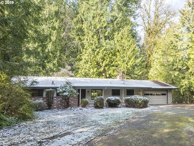 Single Family Home For Sale: 11313 SW 33rd Ave
