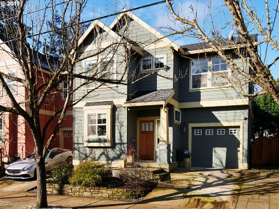 Portland Single Family Home For Sale: 1925 SE 76th Ave