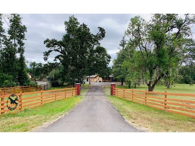 Single Family Home For Sale: 86389 Sanford Rd