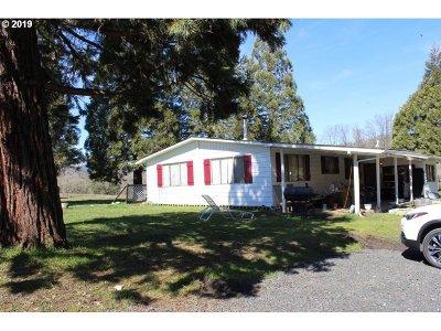 Roseburg Single Family Home For Sale: 783 Buckhorn Rd