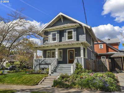 Single Family Home For Sale: 3257 SE Stephens St